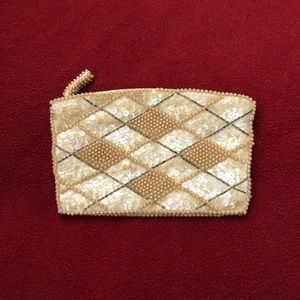 Two Vintage Beaded Purses Made in Japan